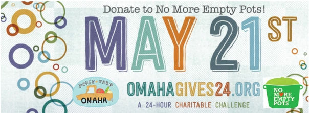 OmahaGives! Wednesday, May 21st